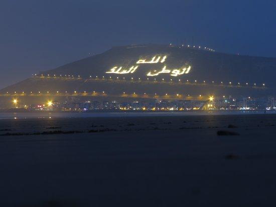 Seafront promenade: de nuit encore plus beau !