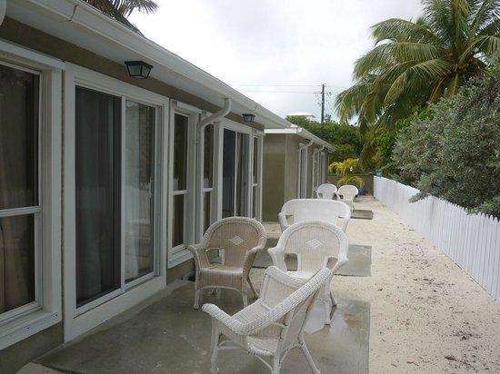 Exuma Beach Resort: Terrace of the room