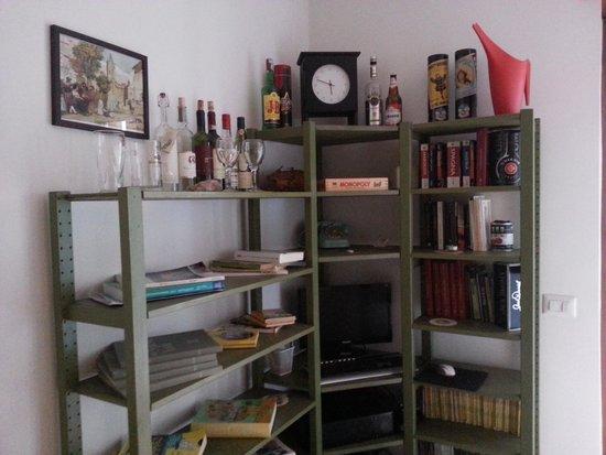 Pascia Room & Breakfast : La bibliothèque