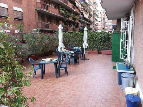 Pascia Room & Breakfast : La terrasse
