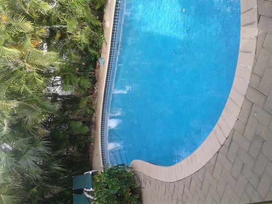 Quint's Travelodge: piscina siempre sola para tu disfrute