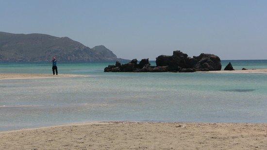 Playa de Elafonisi: contrasto cromatico