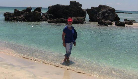 Playa de Elafonisi: trasparenti acque rinfrescanti