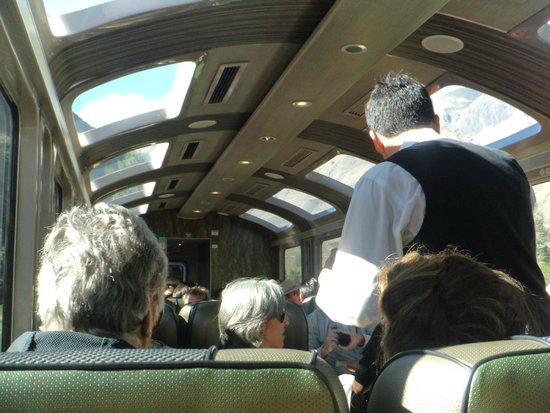 PeruRail - Vistadome: O trem