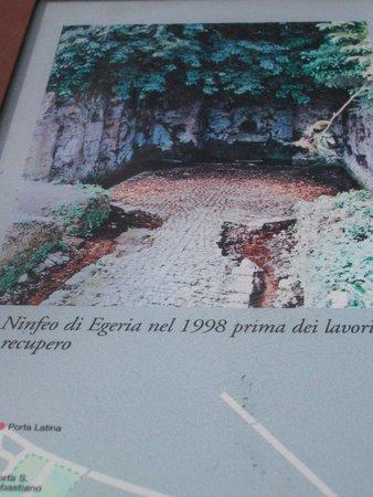 Parco Regionale dell'Appia Antica: Ninfeo di Egeria avant restauration