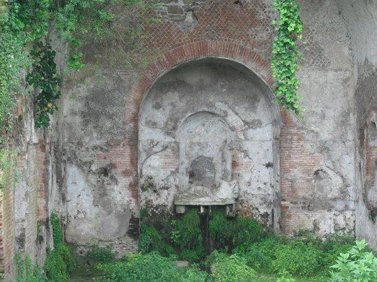 Parco Regionale dell'Appia Antica: ninfeo di Egeria
