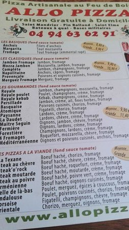 Allo pizza saint mandrier sur mer for Restaurant st mandrier