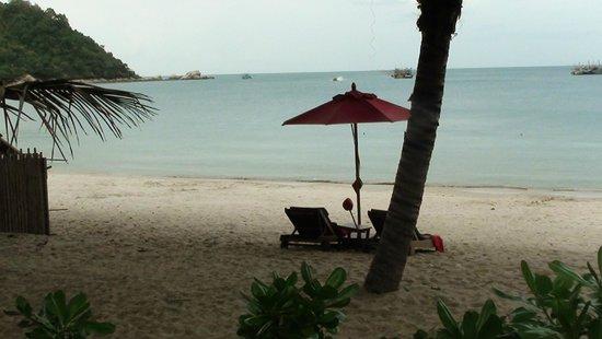Anantara Rasananda Koh Phangan Villas : Beach View