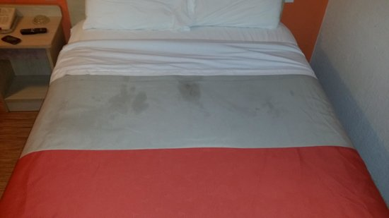 Motel 6 Abilene: 60 bucks for this haha and the bathroom shower was no better. thank god we just needed to shower