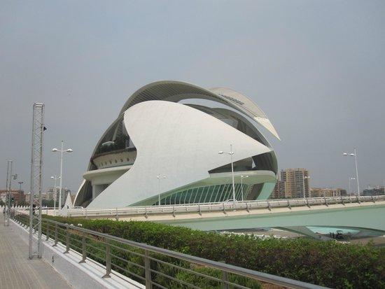 Ciudad de las Artes y las Ciencias: Городок искусства и науки