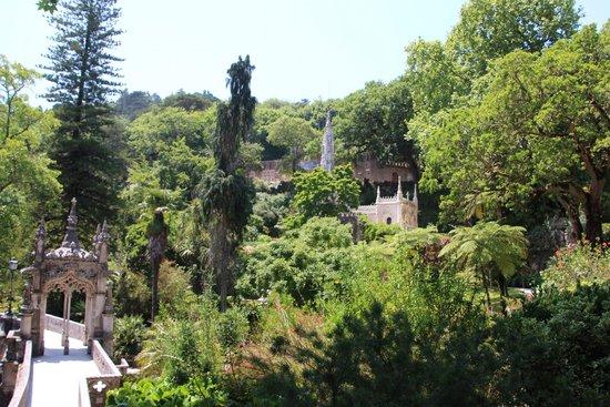 Quinta da Regaleira: The view of the bottom of the gardens