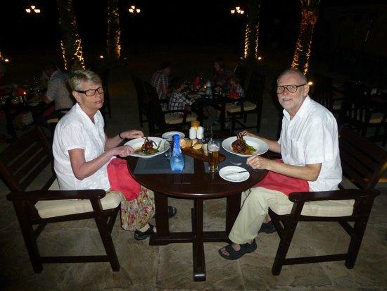 Pura Vida Restaurant : Me and my whife at Pura Vida