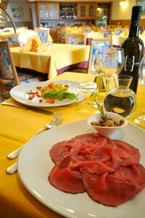 Antica Croce: Carne salada