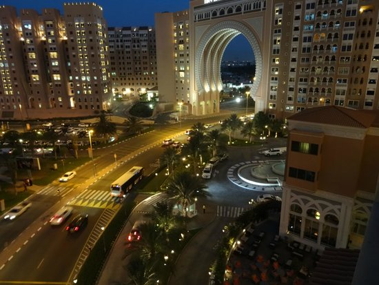 Movenpick Ibn Battuta Gate Hotel Dubai : View from our balcony