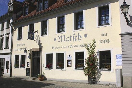 Matsch Gasthaus & Pension: Straßenseite