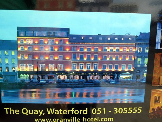Granville Hotel in Waterford Ireland