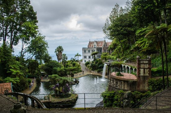Monte Palace Tropical Garden: View from a bridge