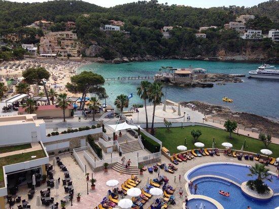 Olimarotel Gran Camp de Mar: Room with a view