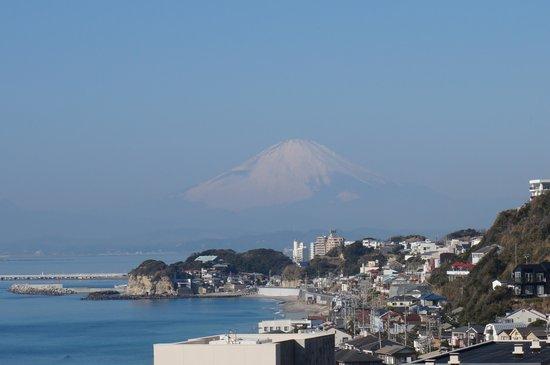 Kamakura Prince Hotel: 富士山