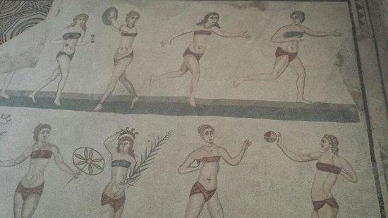 villa romana del Casale - mosaico