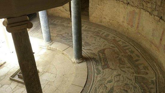 villa romana del Casale - interno