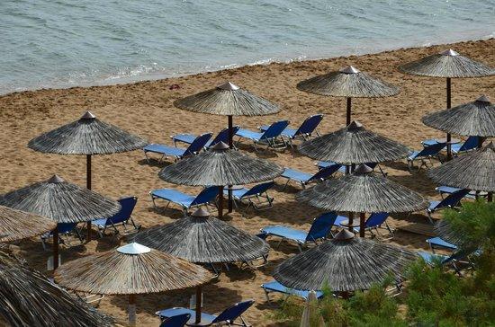 Galini Beach & Eden Hotel: beach area