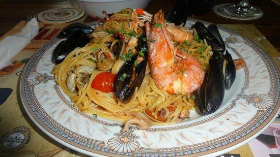 Yummy: Обалденная паста с морепродуктами