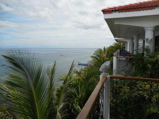 Eden Resort: Aussicht vom Balkon