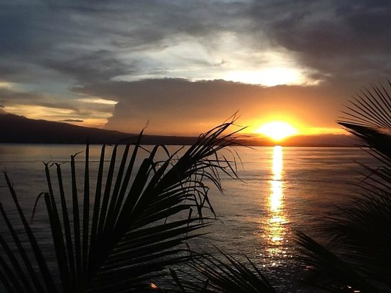 Eden Resort: Sonnenuntergang