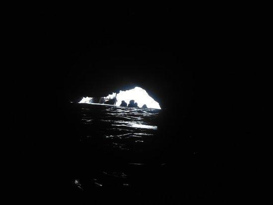 Morakot Cave (Emerald Cave): Blick zurück