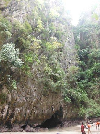 Morakot Cave (Emerald Cave): Innen