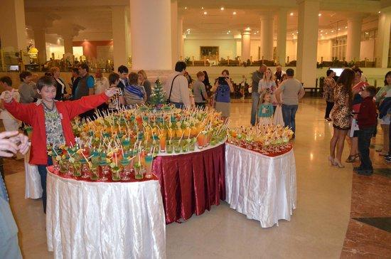 Pyramisa Sahl Hasheesh Resort: Buffet
