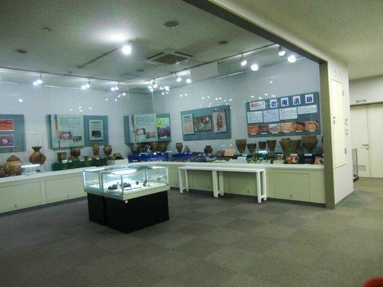 Mizuko Kaizuka Park: 資料館の展示物
