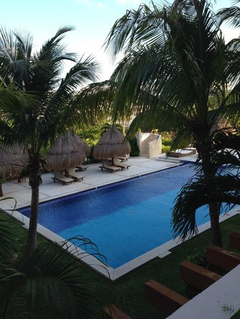 Excellence Playa Mujeres : View from our balcony in building 7B