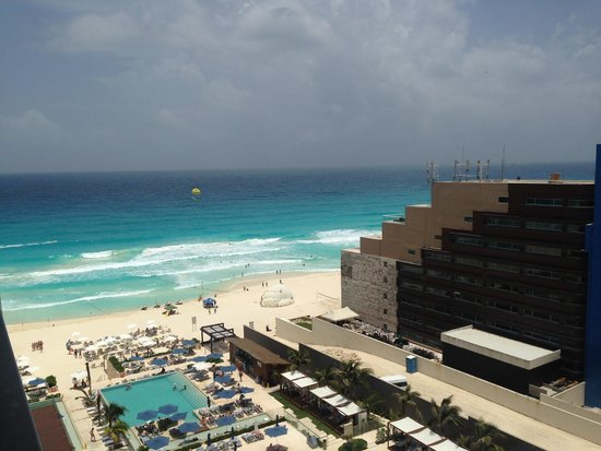 Secrets The Vine Cancun : View from Room - 16th Floor