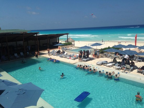 Secrets The Vine Cancun : One of the main pools