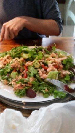 Salmon Salad Picture Of Pizza Express Prestwich Tripadvisor