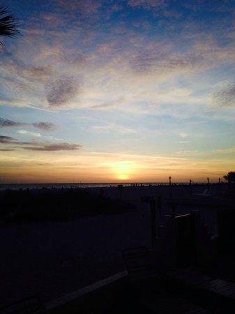 Sirata Beach Resort: Perfect Sunset!