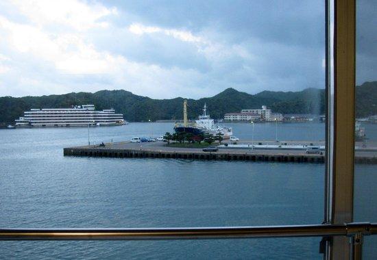 Hotel Urashima: 部屋からの眺望