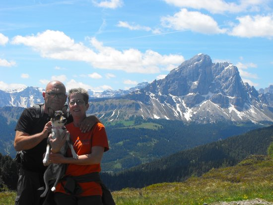 Hotel Aqua Bad Cortina: Vacanza paradisiaca