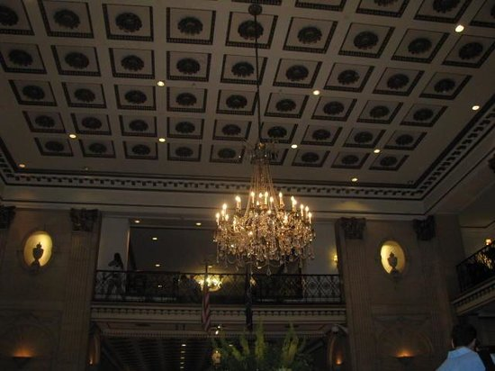 The Roosevelt Hotel : inside lobby