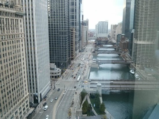 Wyndham Grand Chicago Riverfront : View from my window