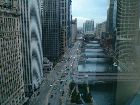 Wyndham Grand Chicago Riverfront: View from my window