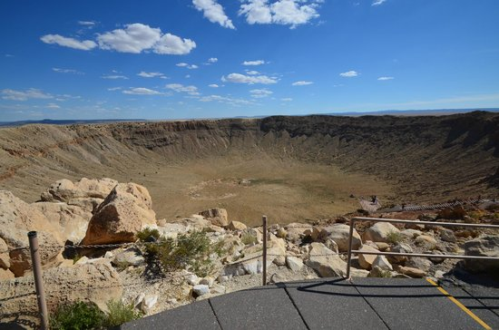 Meteor Crater: Different view point.