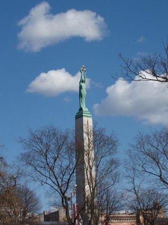 Freedom Monument (Brivibas Piemineklis): Памятник