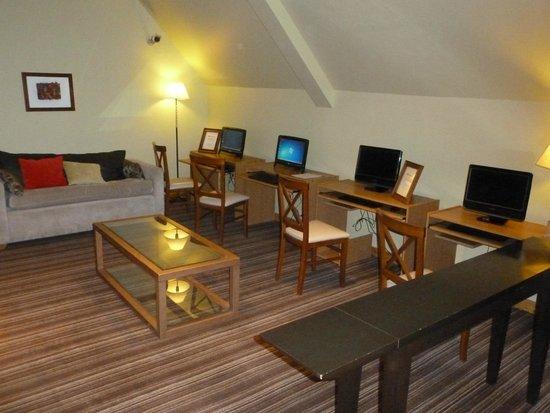 Hotel Mirador del Lago: zona internet