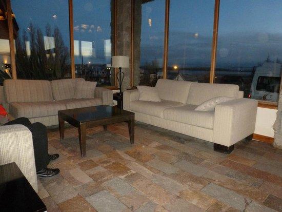 Hotel Mirador del Lago: living entrada