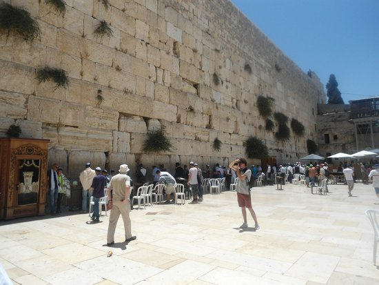 Mur des lamentations : Western Wailing Wall Jerusalem