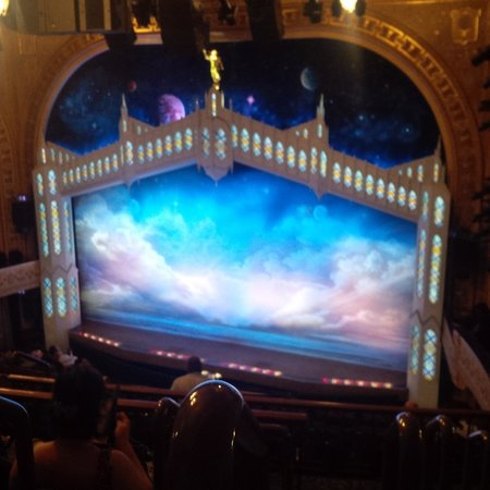 The Book of Mormon: View from right balcony