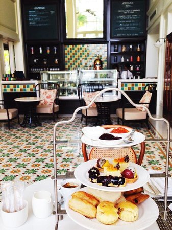 The Danna Langkawi: English afternoon tea at Straits & Co.
